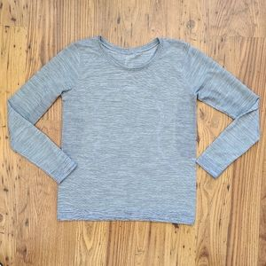 Lululemon Swiftly Tech Grey Long Sleeved Top 6